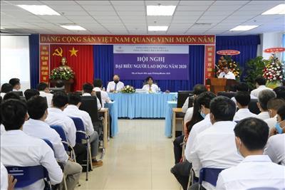 Công ty Nhiệt điện Duyên Hải tổ chức thành công Hội nghị đại biểu người lao động năm 2020